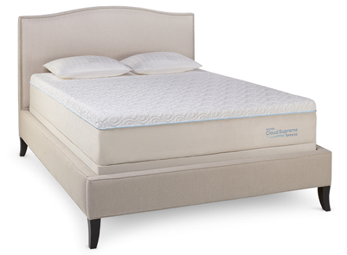 TEMPUR-Cloud Supreme Breeze Luxury Memory Foam Mattress