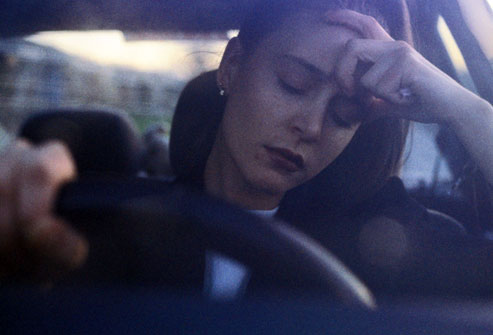 ( OSAS Sleep Attack at Steering Wheel - Image Courtesy of www.webmd.com )