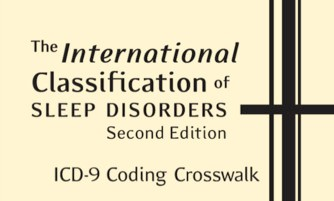 ( International Classification of Sleep Disorders ICSD-2 - Image Courtesy of durmiendomejor.com )