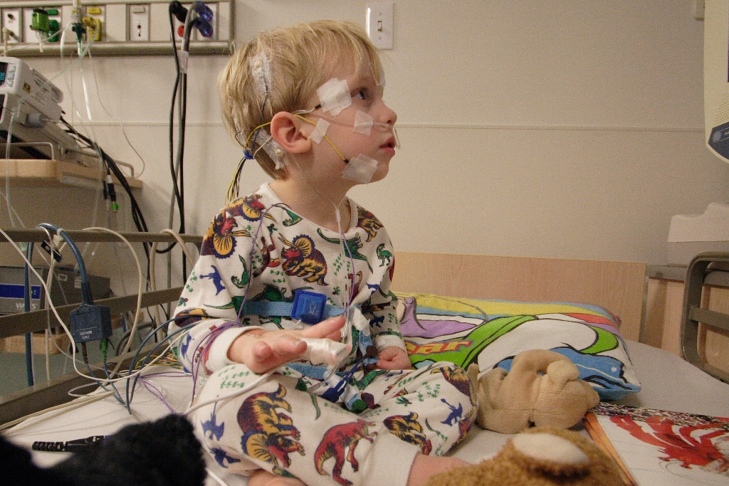 ( Pediatric PSG - Image Courtesy of en.wikipedia.org )
