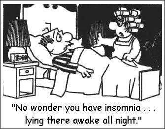 ( Insomnia - Image Courtesy of sleepingresources.com )