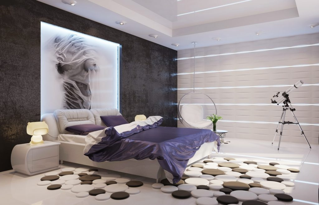 ( Bedroom Design - Image Courtesy of twevy.com )