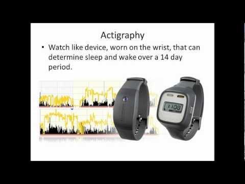 ( Actigraphy Test- Image Courtesy of www.youtube.com )