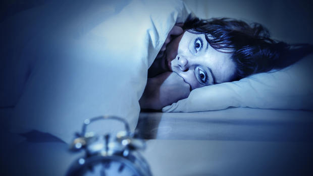 ( Awake in Nightmare - Sleep Paralysis - Image Courtesy of www.cbsnews.com )