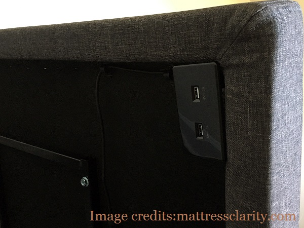 Lucid L300 USB ports on the underside