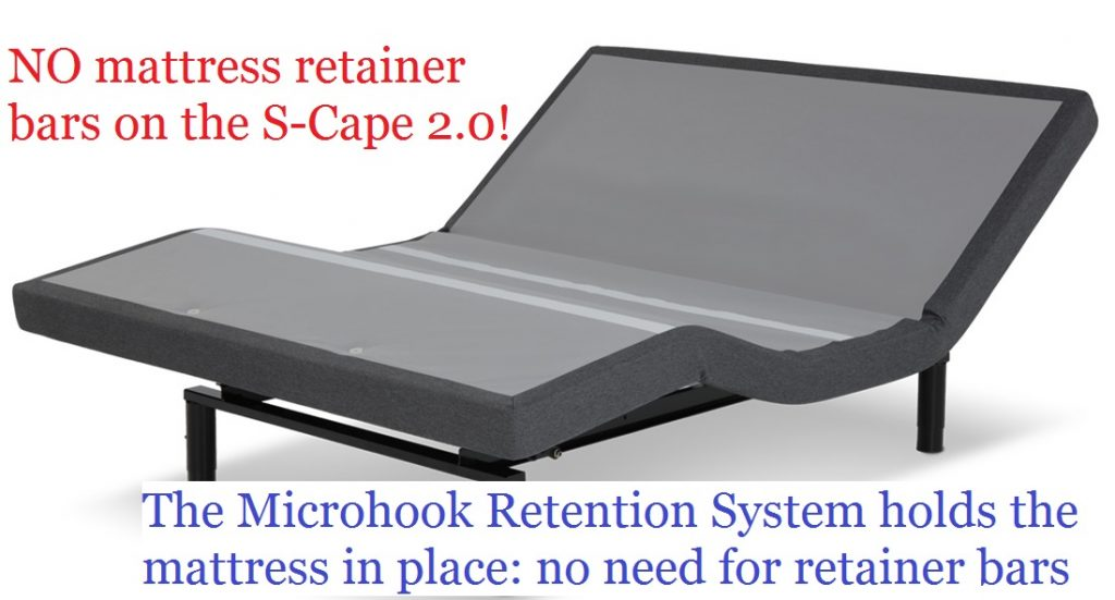 Legget and Platt S-Cape 2.0 microhook retention
