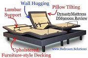 DynastyMattress DM9000s adjustable bed
