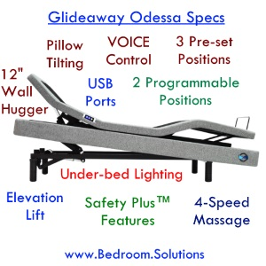Glideaway Odessa Adjusatble Bed Reviews