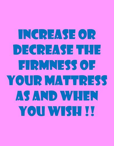adjust firmness softness