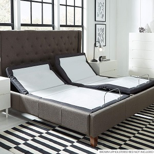 Blissful Nights Adjustable Bed with Pillow Tilting