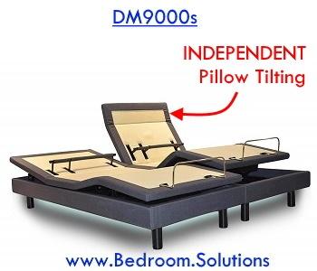 DM9000s Independent Pillow Tilting