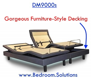 Furniture Style Decking of DynastyMattress DM9000s