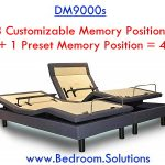 Programmable Memory Positions of DM9000s Bed Frame