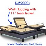 Wall Hugging of DM9000s Adjustable Bed
