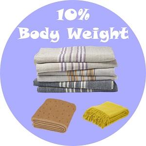10 percent body weight