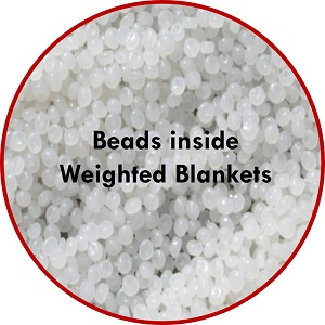 beads poly pellets of blankets