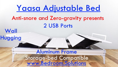 Top Adjustable Bed by Yaasa