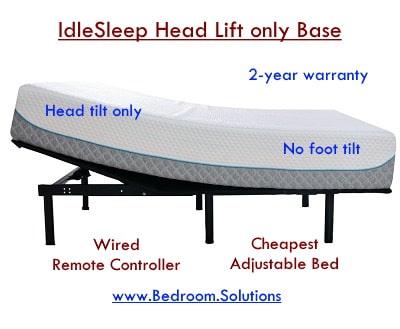 Idlesleep adjustable base